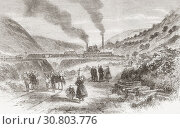 Купить «The Bedwellty Colliery, Tredegar, Monmouthshire, Wales. An explosion at No. 1 pit on the 16th of June 1865, killed 27 miners, six of them young boys under...», фото № 30803776, снято 21 марта 2019 г. (c) age Fotostock / Фотобанк Лори