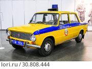 Купить «Lada 2101 Zhiguli», фото № 30808444, снято 2 сентября 2016 г. (c) Art Konovalov / Фотобанк Лори