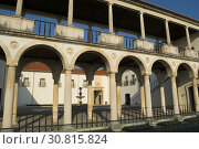 Купить «COIMBRA, PORTUGAL - August 13, 2016: The Machado da Castro National Museum in the ancient university city of Coimbra, Portugal.», фото № 30815824, снято 13 августа 2016 г. (c) age Fotostock / Фотобанк Лори