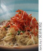 Купить «Spaghetti with cheese in a plate on the table», фото № 30818952, снято 26 марта 2019 г. (c) Алексей Кокорин / Фотобанк Лори