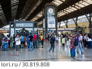 Купить «Central Railway Station», фото № 30819808, снято 10 февраля 2017 г. (c) Яков Филимонов / Фотобанк Лори