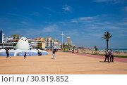 Купить «Peniscola quay», фото № 30819852, снято 16 апреля 2019 г. (c) Яков Филимонов / Фотобанк Лори