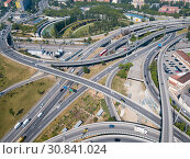Купить «Highway grade separation, Barcelona», фото № 30841024, снято 24 мая 2018 г. (c) Яков Филимонов / Фотобанк Лори