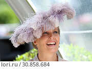 Royal Ascot, Grossbritannien, Portrait of HRH Sophie, The Countess of Wessex (2018 год). Редакционное фото, агентство Caro Photoagency / Фотобанк Лори