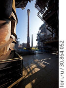 Landschaftspark Duisburg-Nord, Duisburg, Ruhrgebiet, Nordrhein-Westfalen, Deutschland, Europa. Стоковое фото, фотограф Zoonar.com/Stefan Ziese / age Fotostock / Фотобанк Лори