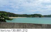 Купить «Nai Harn beach, south of Phuket Island», видеоролик № 30881212, снято 19 ноября 2018 г. (c) Игорь Жоров / Фотобанк Лори