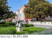 Купить «Набережная маршала Тито. Пореч. Хорватия», фото № 30951880, снято 6 мая 2019 г. (c) Сергей Афанасьев / Фотобанк Лори