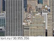 Rockefeller Center, large complex consisting of 19 commercial buildings in Midtown Manhattan. New York City (2019 год). Редакционное фото, фотограф Валерия Попова / Фотобанк Лори