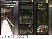 Купить «Equipment of Barcelona Supercomputing Center», фото № 31000348, снято 16 января 2018 г. (c) Яков Филимонов / Фотобанк Лори