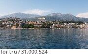 Купить «Herceg Novi ancient town in Kotor bay in Montenegro», видеоролик № 31000524, снято 21 июня 2019 г. (c) Володина Ольга / Фотобанк Лори