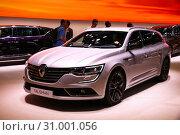 Renault Talisman (2019 год). Редакционное фото, фотограф Art Konovalov / Фотобанк Лори