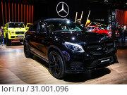 Купить «Mercedes-Benz C292 GLE-class AMG», фото № 31001096, снято 1 сентября 2016 г. (c) Art Konovalov / Фотобанк Лори