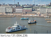 ort of Helsinki aerial view (2016 год). Редакционное фото, фотограф EugeneSergeev / Фотобанк Лори