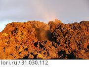 Купить «Leirhnjukur lava field in North of Iceland», фото № 31030112, снято 23 сентября 2017 г. (c) easy Fotostock / Фотобанк Лори