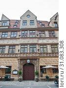 Купить «Ehemalige stadtschreiberei in Munich. Germany», фото № 31083308, снято 23 июня 2019 г. (c) E. O. / Фотобанк Лори