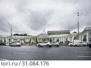 Купить «НИИ имени Склифосовского, Москва», фото № 31084176, снято 29 июня 2019 г. (c) Victoria Demidova / Фотобанк Лори