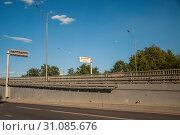 Купить «Граница Москвы и Московской области в Долгопрудном», фото № 31085676, снято 24 июня 2019 г. (c) Геннадий Соловьев / Фотобанк Лори