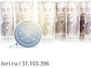 Купить «Compass On Roll Of Yen Banknote, Concept And Idea Of Direction And Money, Business And Finance Concepts, Money market in Asian», фото № 31103396, снято 8 сентября 2017 г. (c) easy Fotostock / Фотобанк Лори
