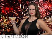 Купить «Women drinking the adult beverage known as champagne», фото № 31135580, снято 23 октября 2017 г. (c) easy Fotostock / Фотобанк Лори