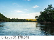 Купить «Taiga river in the far East of Russia.», фото № 31178348, снято 20 августа 2016 г. (c) easy Fotostock / Фотобанк Лори