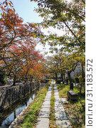 Купить «The Philosopher's Walk in Kyoto during Autumn», фото № 31183572, снято 11 ноября 2010 г. (c) easy Fotostock / Фотобанк Лори
