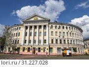 Купить «Building of National University of Kyiv, Ukraine», фото № 31227028, снято 12 июля 2018 г. (c) easy Fotostock / Фотобанк Лори