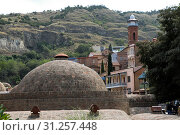 Купить «Tbilisi Old Town, the Historic district of the capital of Georgia», фото № 31257448, снято 17 августа 2016 г. (c) easy Fotostock / Фотобанк Лори
