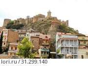 Купить «Tbilisi Old Town, the Historic district of the capital of Georgia», фото № 31299140, снято 17 августа 2016 г. (c) easy Fotostock / Фотобанк Лори