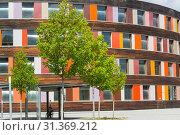 Купить «Environment and colorful facade of the Federal Environment Agency in Dessau», фото № 31369212, снято 5 августа 2018 г. (c) easy Fotostock / Фотобанк Лори