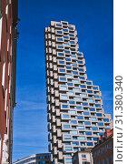 Купить «Norra Torren skyscraper, Vasastaden, Norrmalm, Stockholm, Sweden, Scandinavia», фото № 31380340, снято 2 марта 2019 г. (c) age Fotostock / Фотобанк Лори