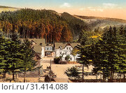 Buildings in Landkreis Sächsische Schweiz-Osterzgebirge, Mills in Landkreis Sächsische Schweiz-Osterzgebirge, Schmiedeberg (Erzgebirge), 1919, Landkreis... (2019 год). Редакционное фото, фотограф Copyright Liszt Collection / age Fotostock / Фотобанк Лори