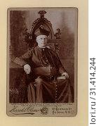 Купить «Rt. Rev. John Sweeney, D.D, Bishop of St. John, N. B. Three-quarter length seated cabinet portrait, in clerical dress.», фото № 31414244, снято 6 июня 2020 г. (c) age Fotostock / Фотобанк Лори