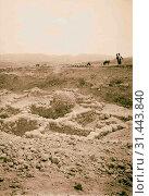 Beth Shemesh 1898, Ruins, Archaeological sites, Israel (2018 год). Редакционное фото, фотограф © Liszt Collection / age Fotostock / Фотобанк Лори