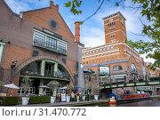 Купить «Birmingham Canal, Old Line, Birmingham, England.», фото № 31470772, снято 23 июля 2019 г. (c) age Fotostock / Фотобанк Лори