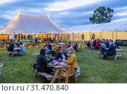 Купить «Hay Festival, Hay on Wye, Wales.», фото № 31470840, снято 4 апреля 2020 г. (c) age Fotostock / Фотобанк Лори