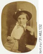 Купить «Portrait of a Young Boy, Oscar Gustave Rejlander (British, born Sweden, 1813 - 1875), about 1860, Albumen silver print», фото № 31482132, снято 7 сентября 2018 г. (c) age Fotostock / Фотобанк Лори