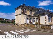 Купить «Streets of Saint Fargeau, Bourgogne, France, Europe.», фото № 31508796, снято 8 июля 2019 г. (c) age Fotostock / Фотобанк Лори