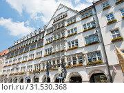 Купить «Hirmer building in Munich. Germany», фото № 31530368, снято 18 июня 2019 г. (c) E. O. / Фотобанк Лори
