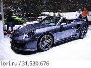 Купить «Porsche 911», фото № 31530676, снято 10 марта 2019 г. (c) Art Konovalov / Фотобанк Лори