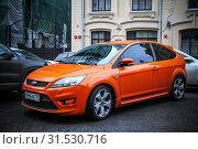 Купить «Ford Focus ST», фото № 31530716, снято 29 сентября 2012 г. (c) Art Konovalov / Фотобанк Лори
