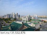 Купить «Pyongyang, North Korea», фото № 31532876, снято 29 апреля 2019 г. (c) Знаменский Олег / Фотобанк Лори
