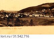 Churches in Landkreis Sächsische Schweiz-Osterzgebirge, Schmiedeberg (Erzgebirge), 1903, Landkreis Sächsische Schweiz-Osterzgebirge, Schmiedeberg, Germany (2019 год). Редакционное фото, фотограф Liszt Collection / age Fotostock / Фотобанк Лори