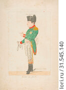 Купить «Général sans pareil (The Peerless General), Summer 1815, Hand-colored etching, plate: 11 5/8 x 7 5/16 in. (29.5 x 18.6 cm), Prints, Anonymous, French, 19th century», фото № 31545140, снято 26 апреля 2017 г. (c) age Fotostock / Фотобанк Лори