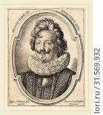 Ottavio Leoni, Paolo Giordano Orsini II, Italian, c. 1578-1630, engraving (2014 год). Редакционное фото, фотограф Artokoloro / age Fotostock / Фотобанк Лори