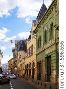 Купить «Streets of Arad town, Romania», фото № 31596656, снято 13 сентября 2017 г. (c) Яков Филимонов / Фотобанк Лори