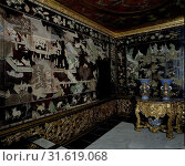 Купить «Woodwork in Chinese lacquer, from the palace of the Frisian town holders, Anonymous, before 1695», фото № 31619068, снято 3 декабря 2014 г. (c) age Fotostock / Фотобанк Лори