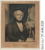 Купить «Martin Van Buren: eighth President of the United states, N. Currier (Firm),, New York : Published by N. Currier, [between 1835 and 1856], 1 print : lithograph, hand-colored.», фото № 31646828, снято 22 января 2010 г. (c) age Fotostock / Фотобанк Лори