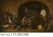 Купить «Guardroom, David Teniers (II), 1641», фото № 31656048, снято 16 ноября 2014 г. (c) age Fotostock / Фотобанк Лори
