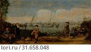 Купить «Fishermen and Hunters, Arent Arentsz., 1625 - c. 1631», фото № 31658048, снято 16 ноября 2014 г. (c) age Fotostock / Фотобанк Лори