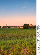 Malpaga, Cavenago, Lombardy, Italy, Europe. Стоковое фото, фотограф ClickAlps / age Fotostock / Фотобанк Лори